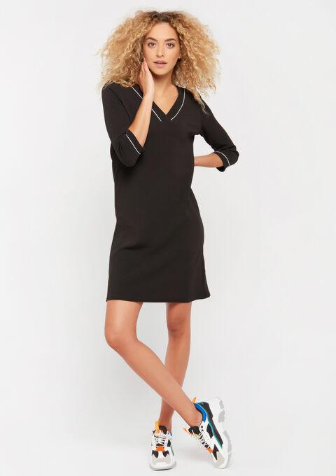 Robe mini droite - BLACK - 08101595_1119