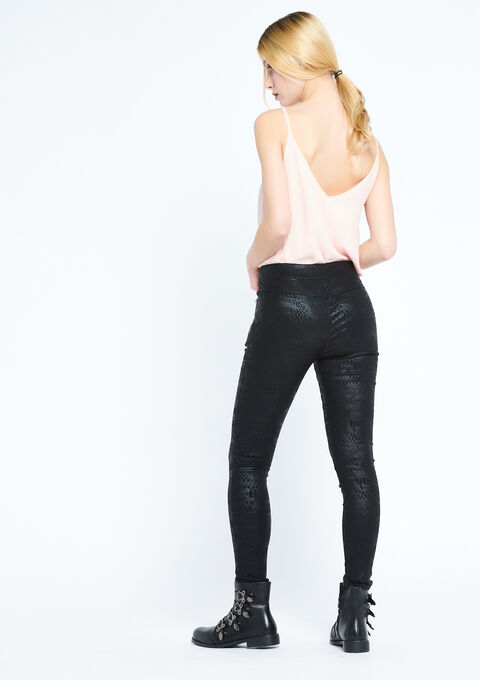 Legging met pythonprint - BLACK - 06003894_1119
