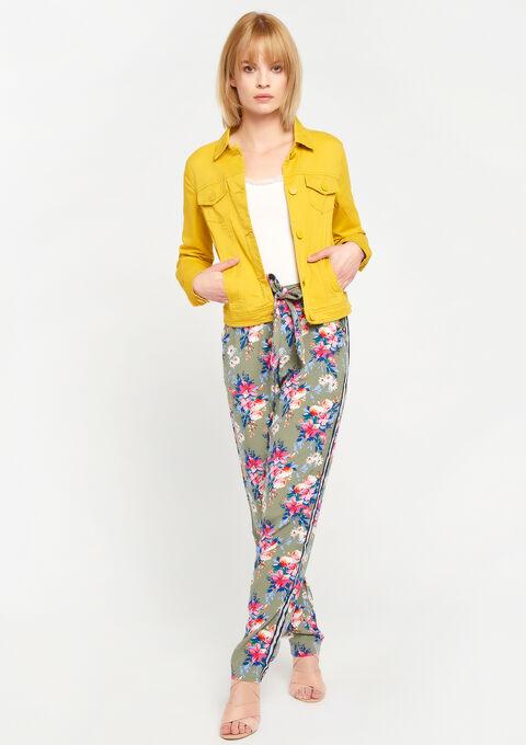Jeansvest - LEMON CURRY - 09100131_1237