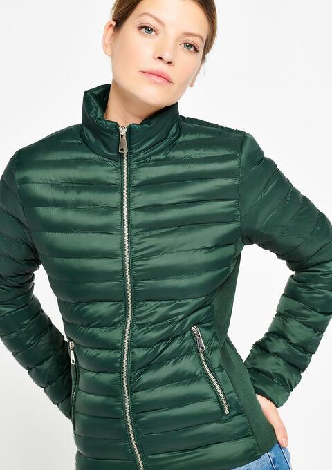 Gewatteerde jas - GREEN TEAL - 23000114_4503