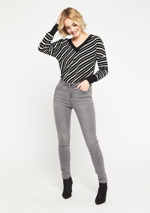 Skinny jeans - MEDIUM GREY - 22000171_512