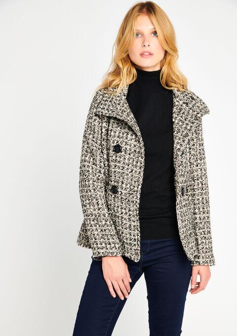 Tweed jacket - BURRO CAMEL - 23000026_3800