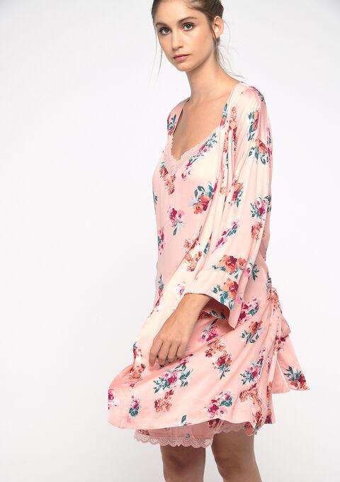 Dames kimono met bloemenprint - ROSE MELLOW - 15100029_1313