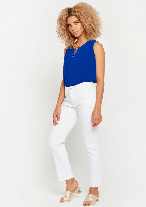 Jeans, straight, cropped - OFFWHITE - 22000102_1001