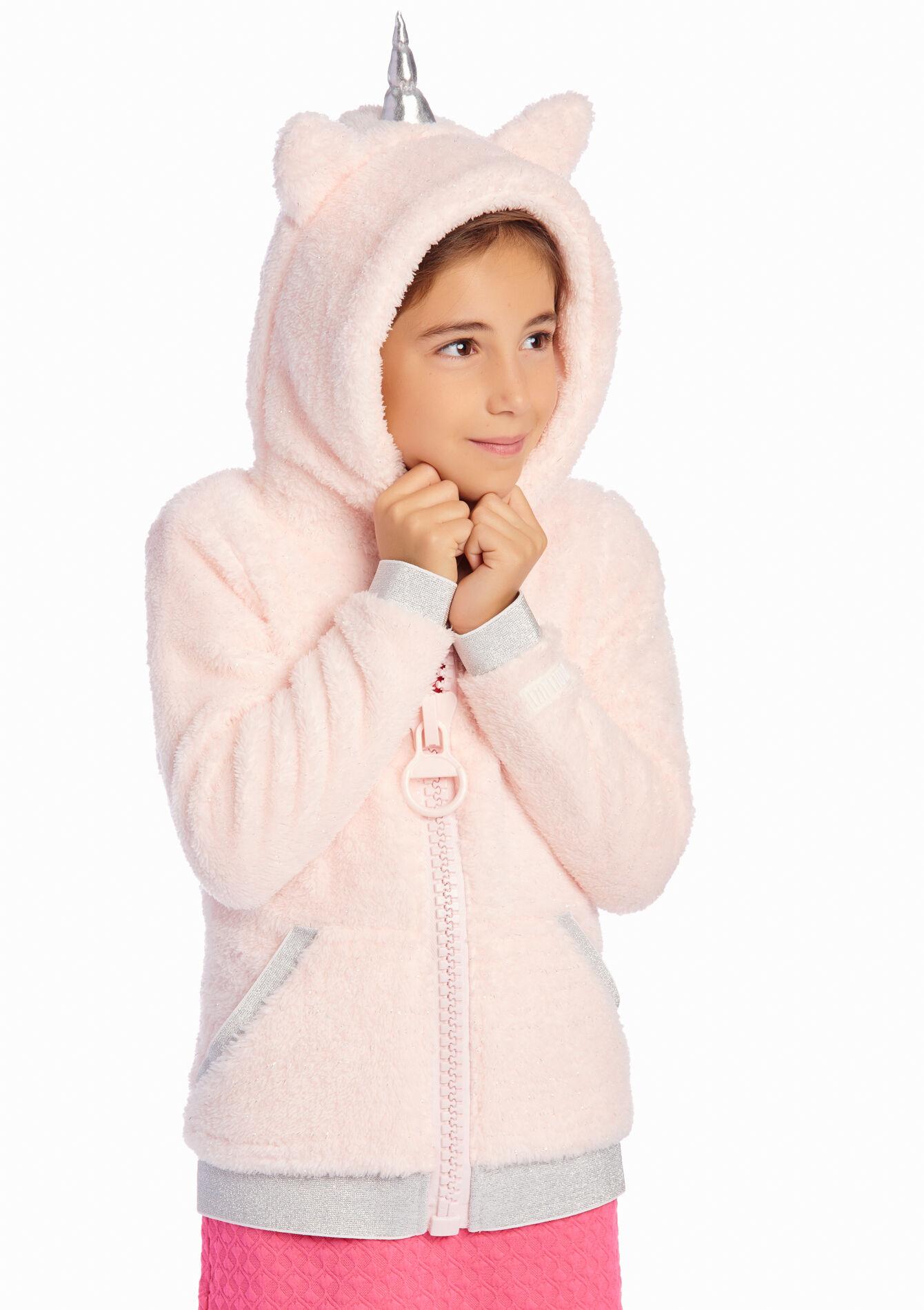 Sweat enfant avec capuche style licorne LolaLiza