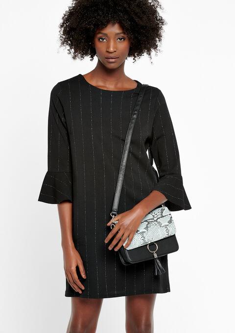 Bag with python print - BLACK - 934770