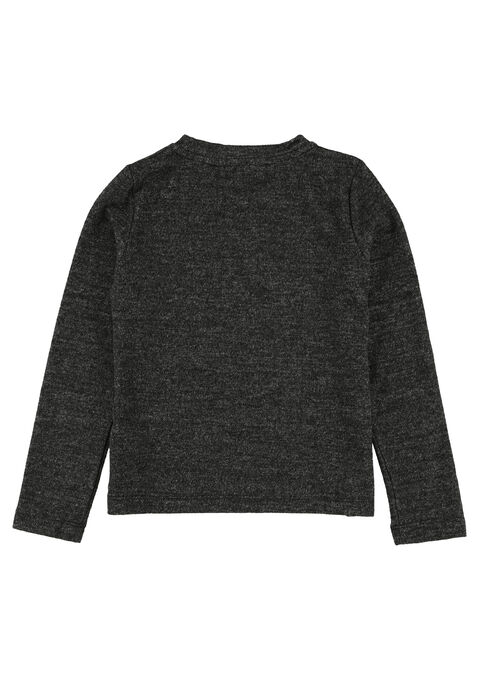 Sweater met lovertjes - BLACK - 03001214_1119