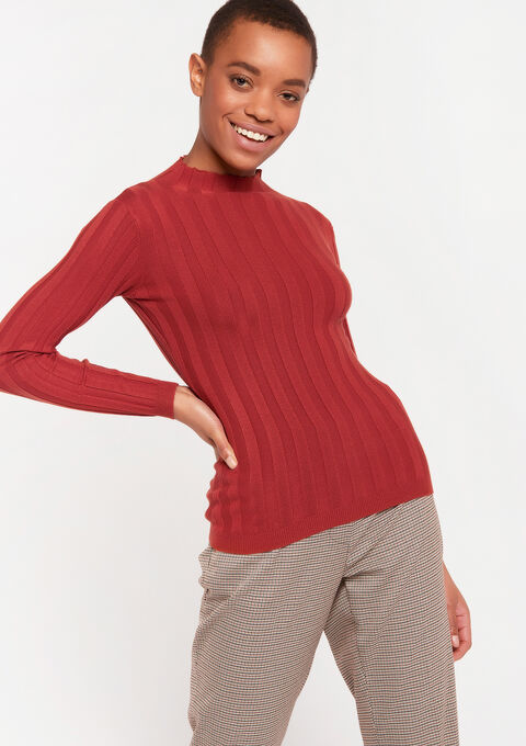 Pull col montant - LIGHT ROOM RED - 04005071_3710