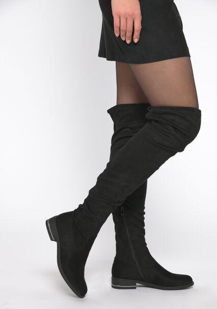 Over-de-knie-laarzen - BLACK - 13100024_1119