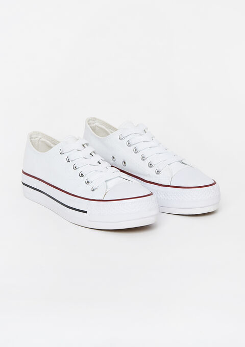Sneaker - WHITE ALYSSUM - 13000446_2502