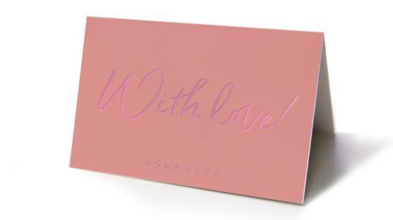 Carte cadeau - WITH LOVE - 1023133