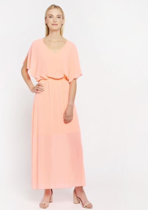 Creëer jouw eigen jurk - CORAL EMBERGLOW - 08600321_5404