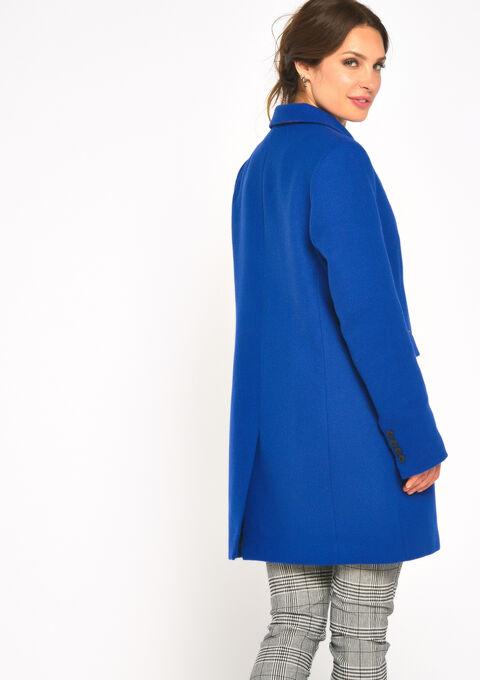 Halflange manteljas - BLUE TATE - 23000104_2914