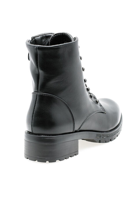 Bottes à lacets - BLACK - 13100030_1119