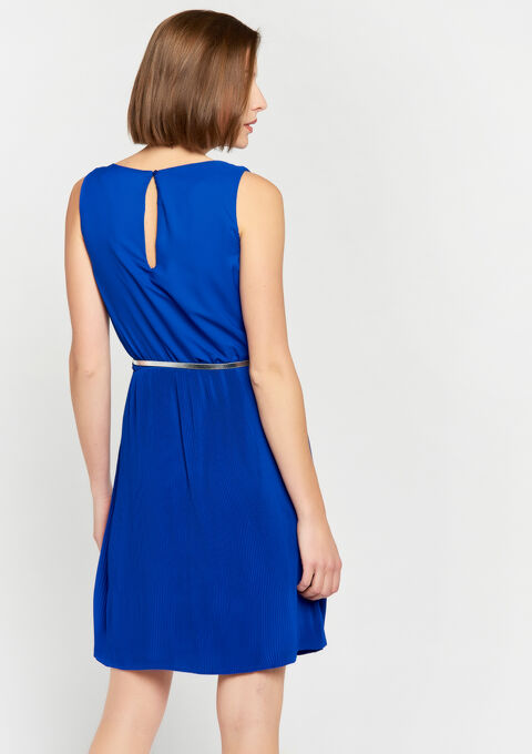Plissé-jurk - BLUE ELECTRICAL - 08100518_2805