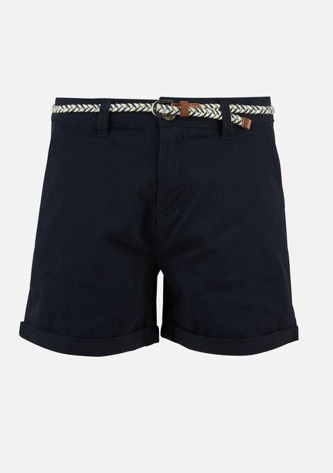 Chino short - NAVY SHADOW - 06100237_2713