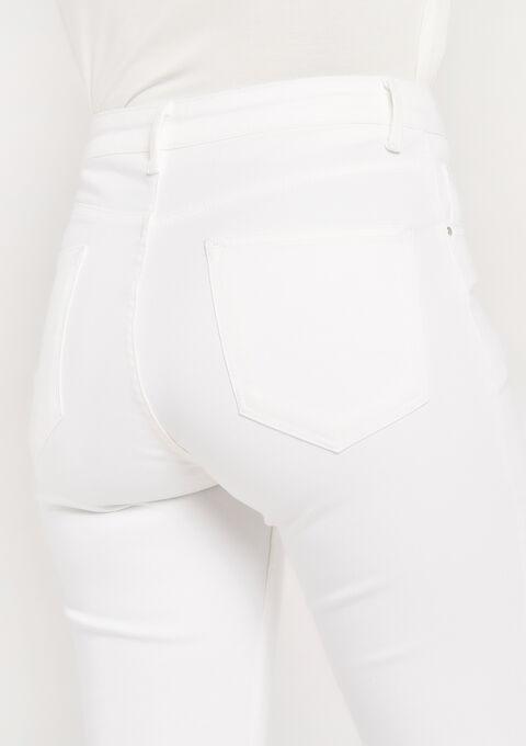 Skinny jeans met knoopsluiting - OFFWHITE - 22000101_1001