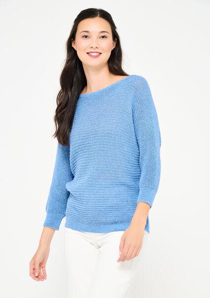 Pull en lurex - BLUE ARTIC - 04005648_2900
