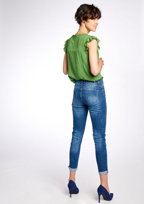 Skinny fit jeans - MEDIUM BLUE - 06003315_500