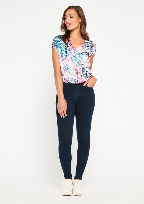 Jegging in jeans - DARK BLUE - 922918