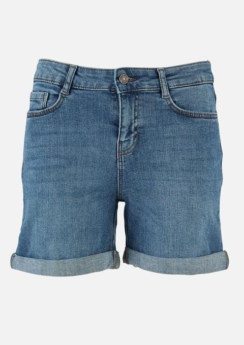 Jeans shorts denim - MEDIUM BLUE - 22000180_500