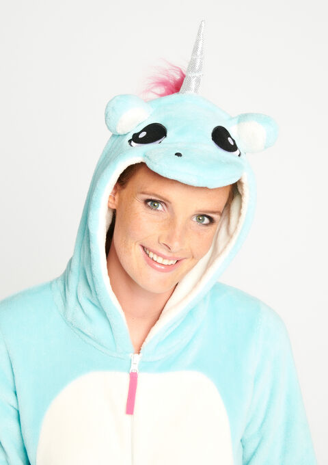 5b5603519046 Onesie  Unicorn  - FADED BLUE - 15000430 1728