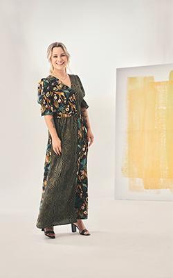 an maxi dress