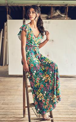 an watermelon dress