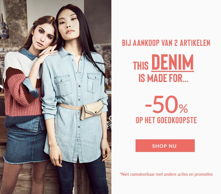 Our new denim collection en promo