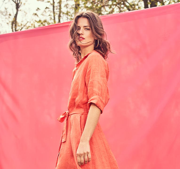 new collection dresses campaign