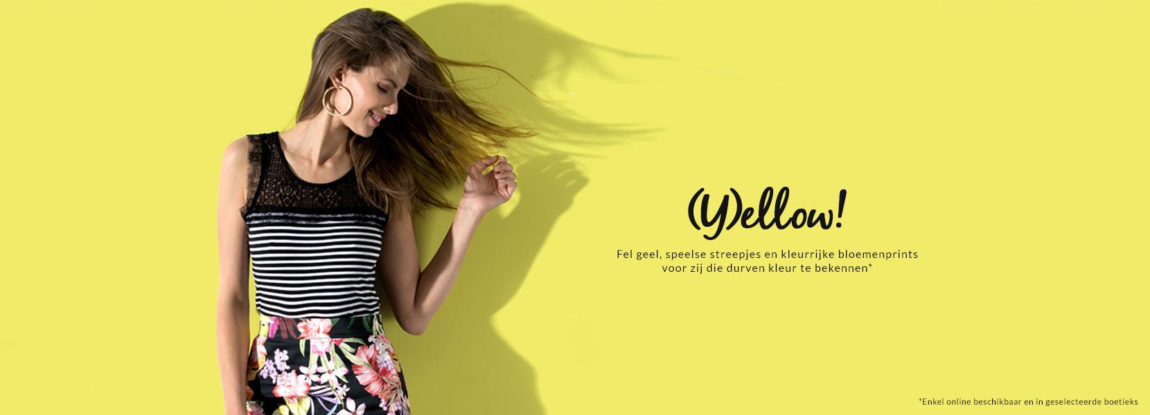 Yellow & flowers