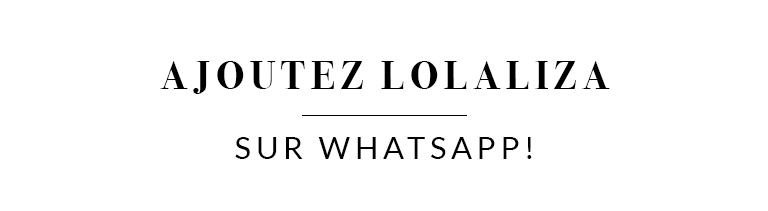 Welcome on LolaLiza What's App