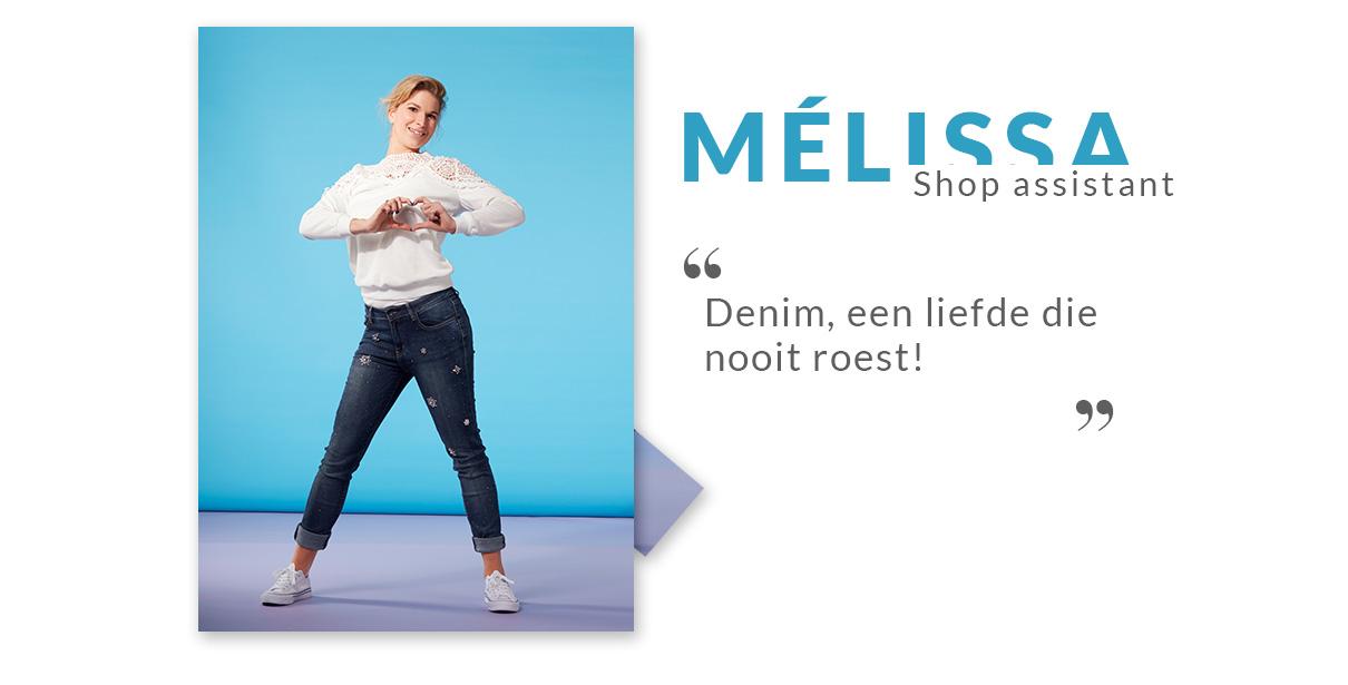 le look de Mélissa