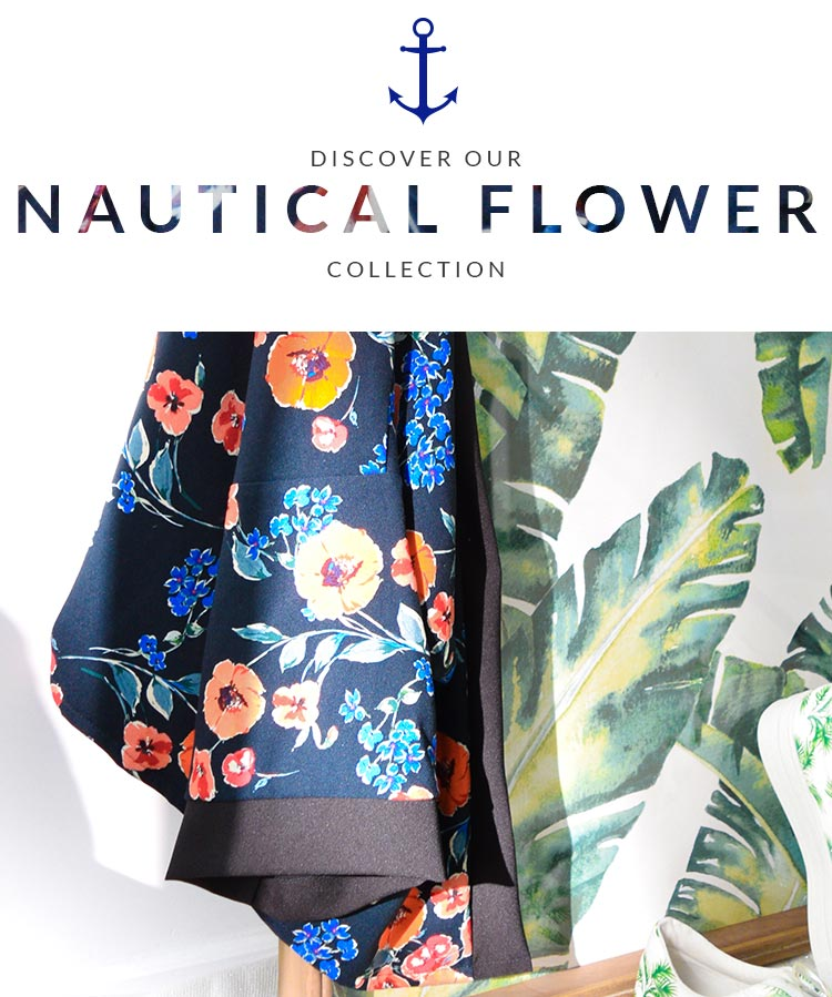 Nautical flower collection