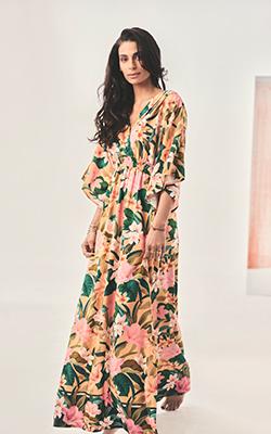 tatiana kimono style dress