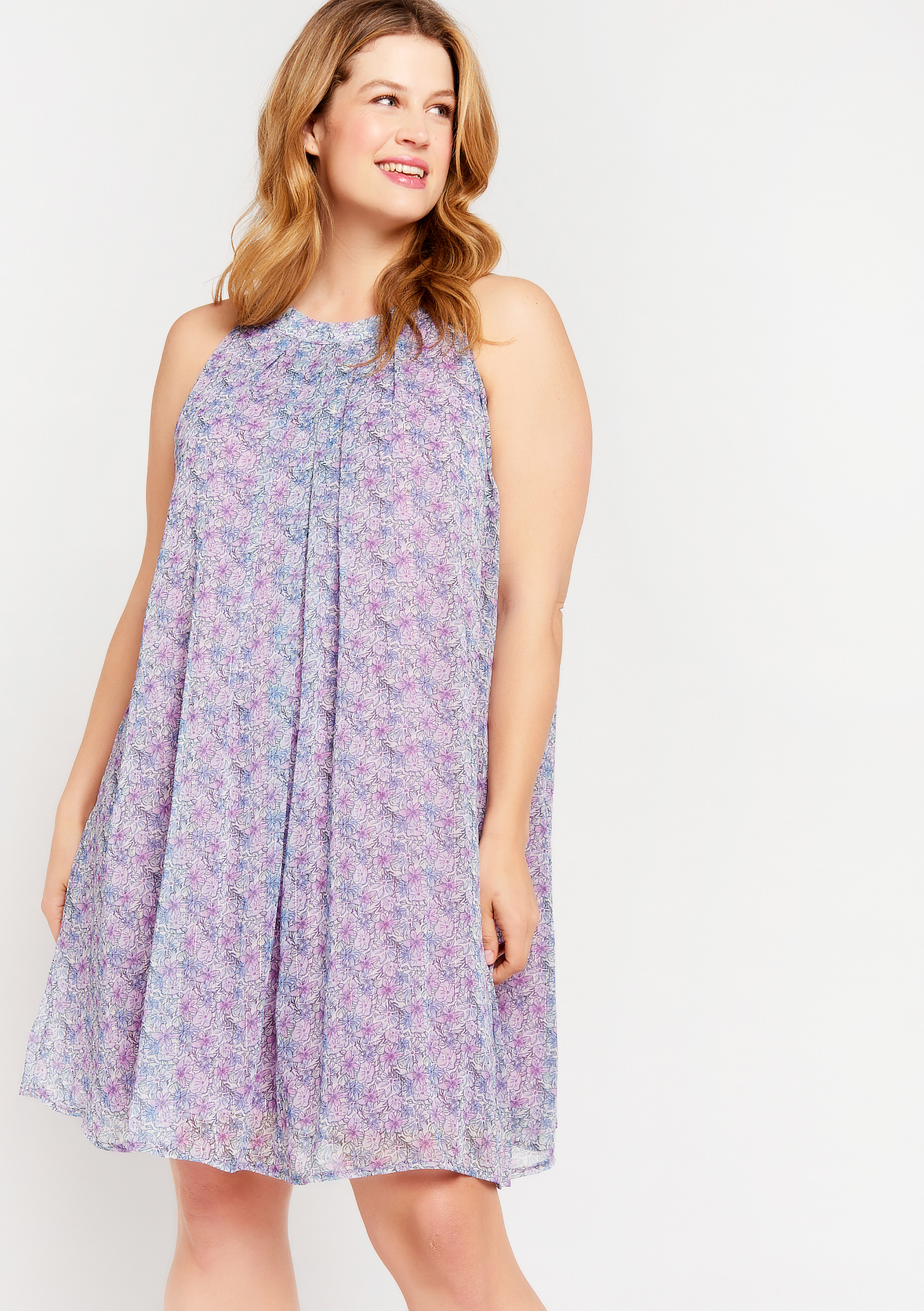 Robe ample à imprimé liberty - LolaLiza - Modalova