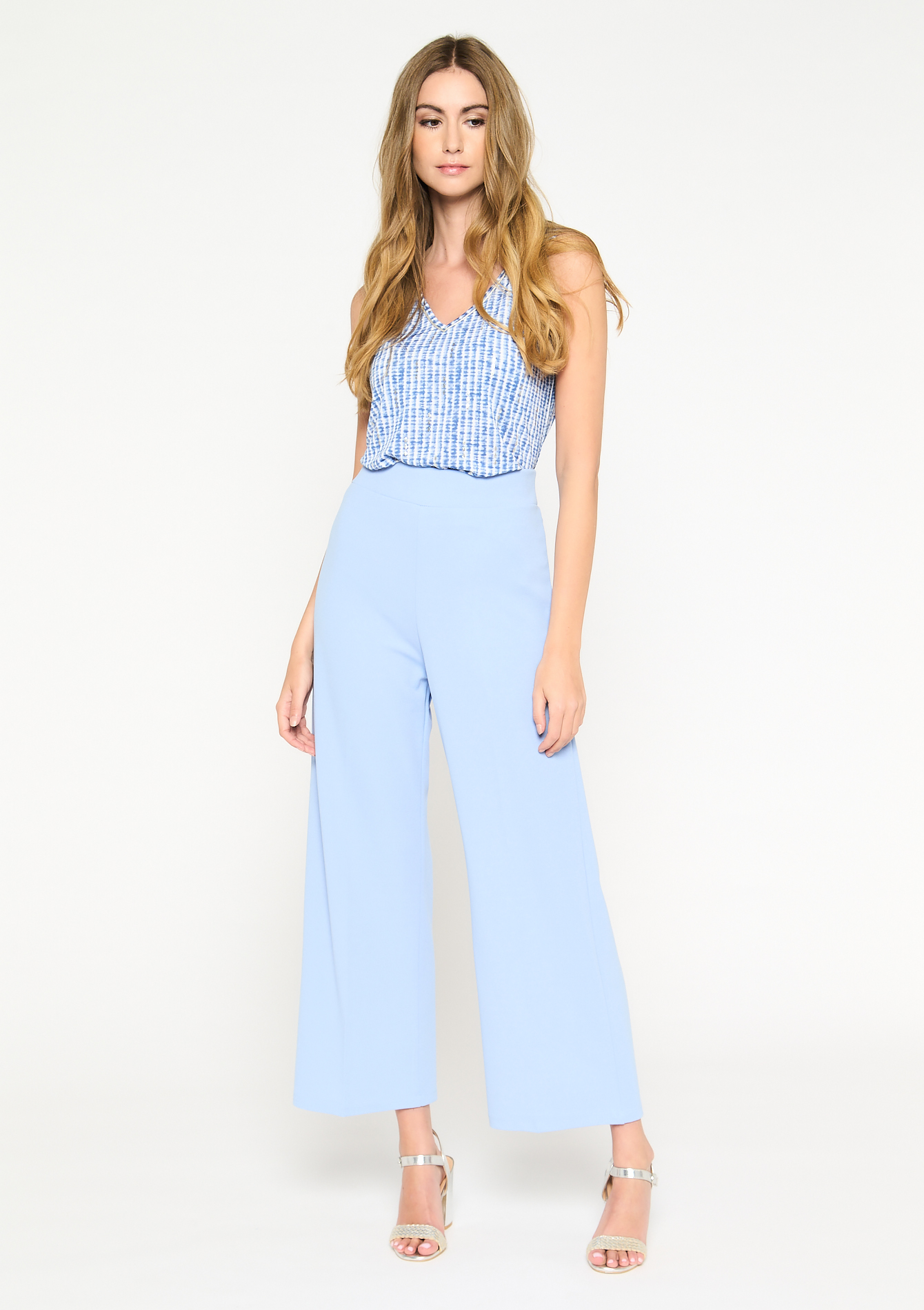 Losse broek basic design - BLUE SKY - 06600451_3009