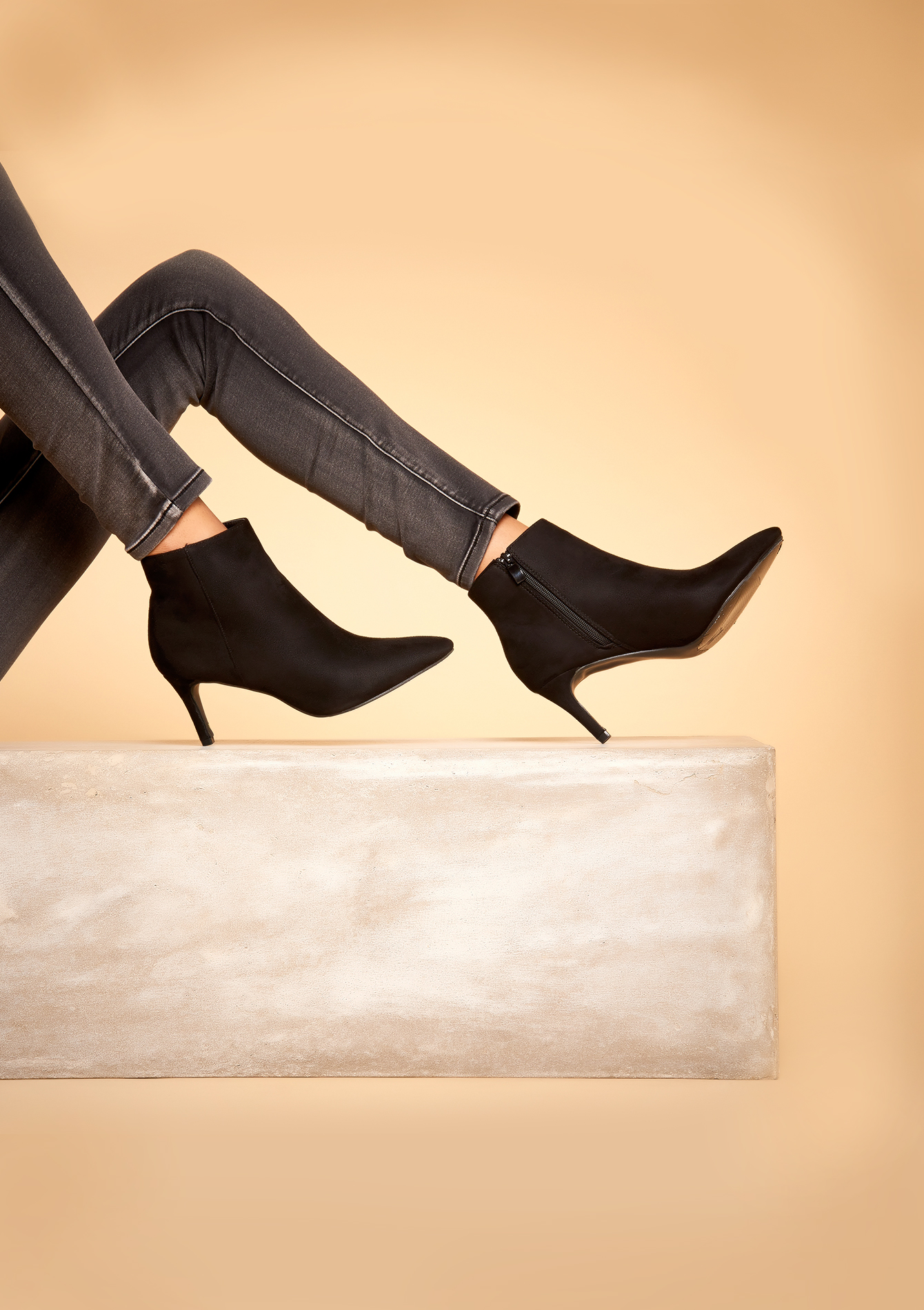bottines talons hauts lolaliza. Black Bedroom Furniture Sets. Home Design Ideas