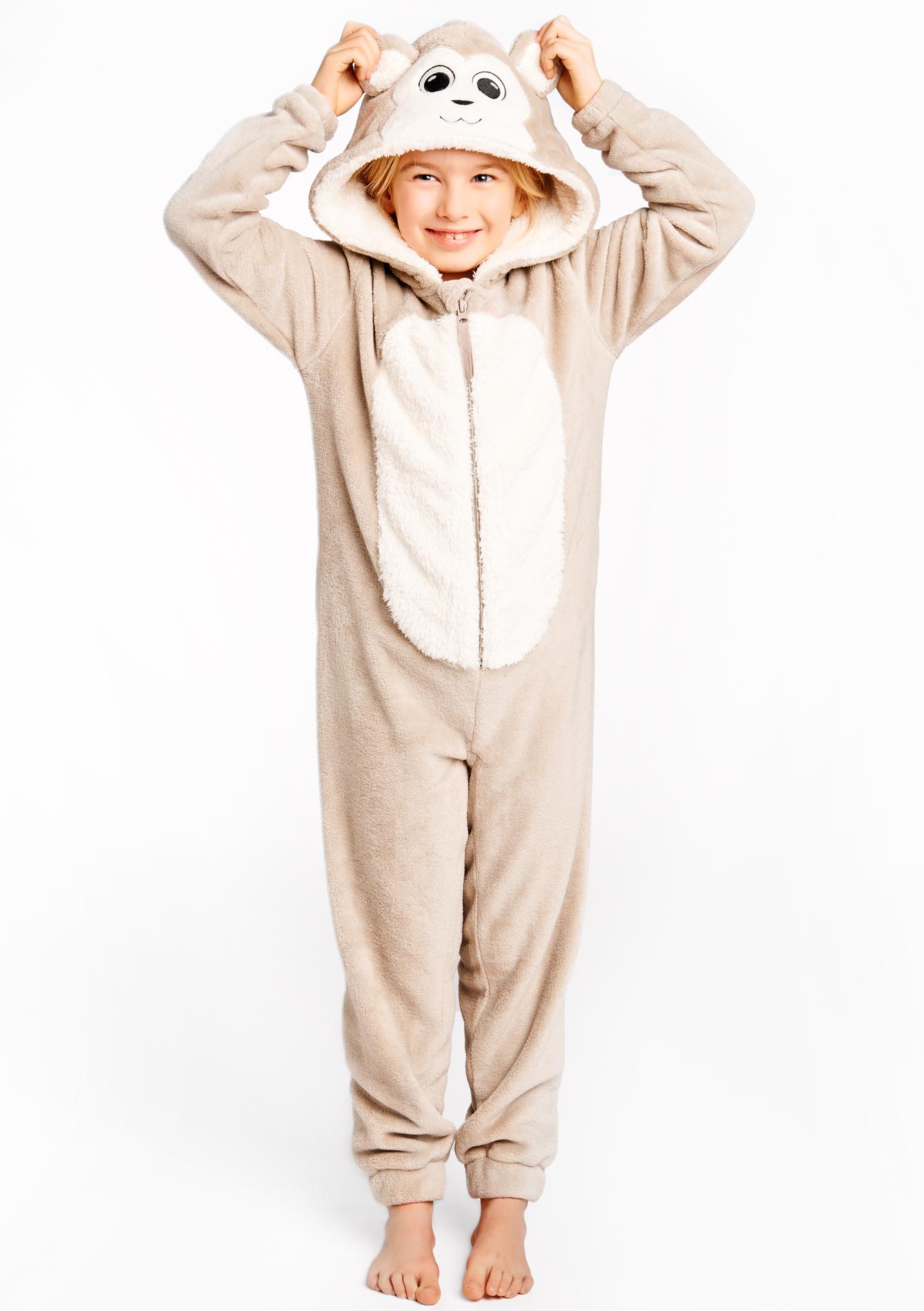 combinaison pyjama enfant style singe lolaliza. Black Bedroom Furniture Sets. Home Design Ideas