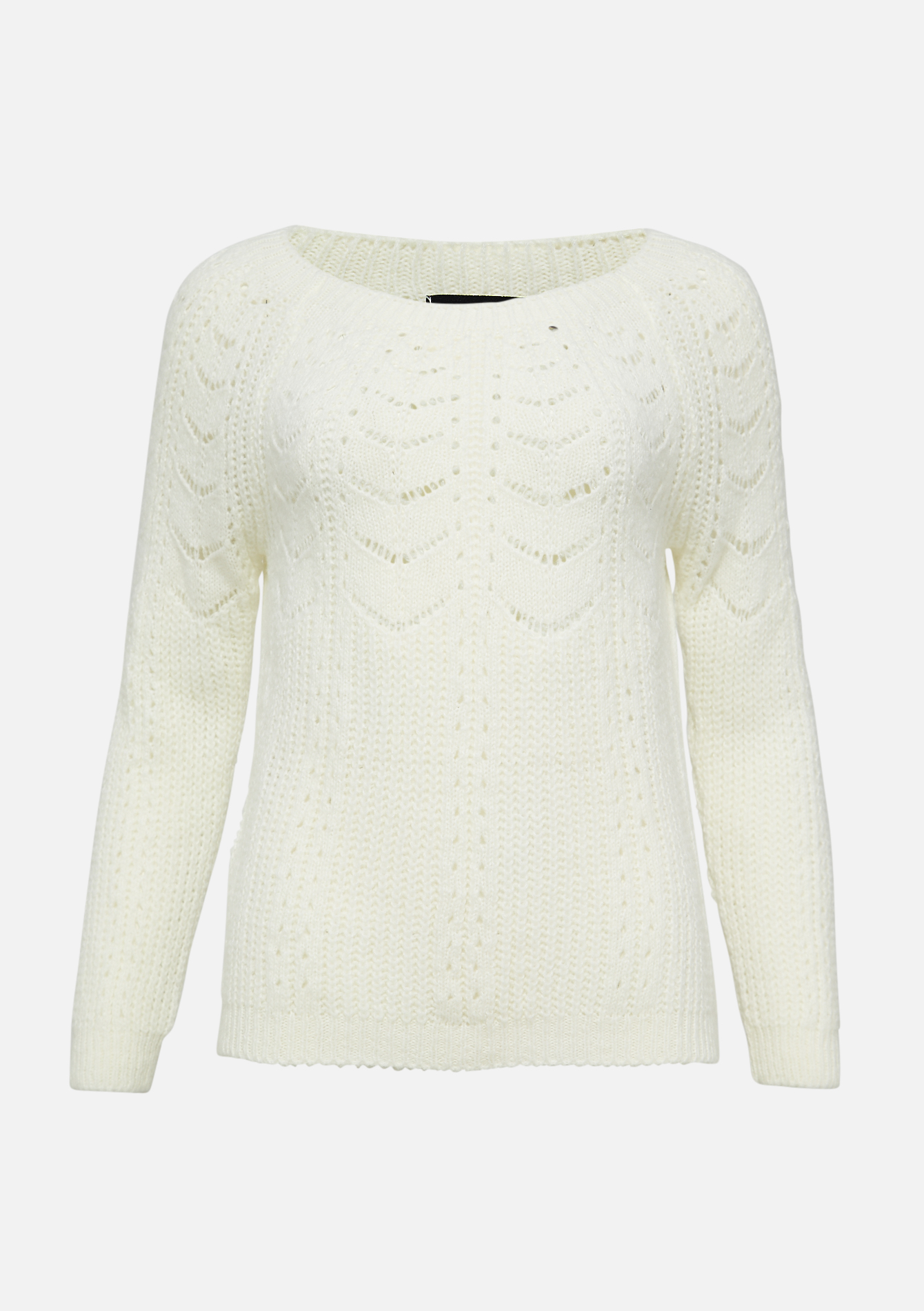 Pull ajouré - OFFWHITE - 04005456_1001