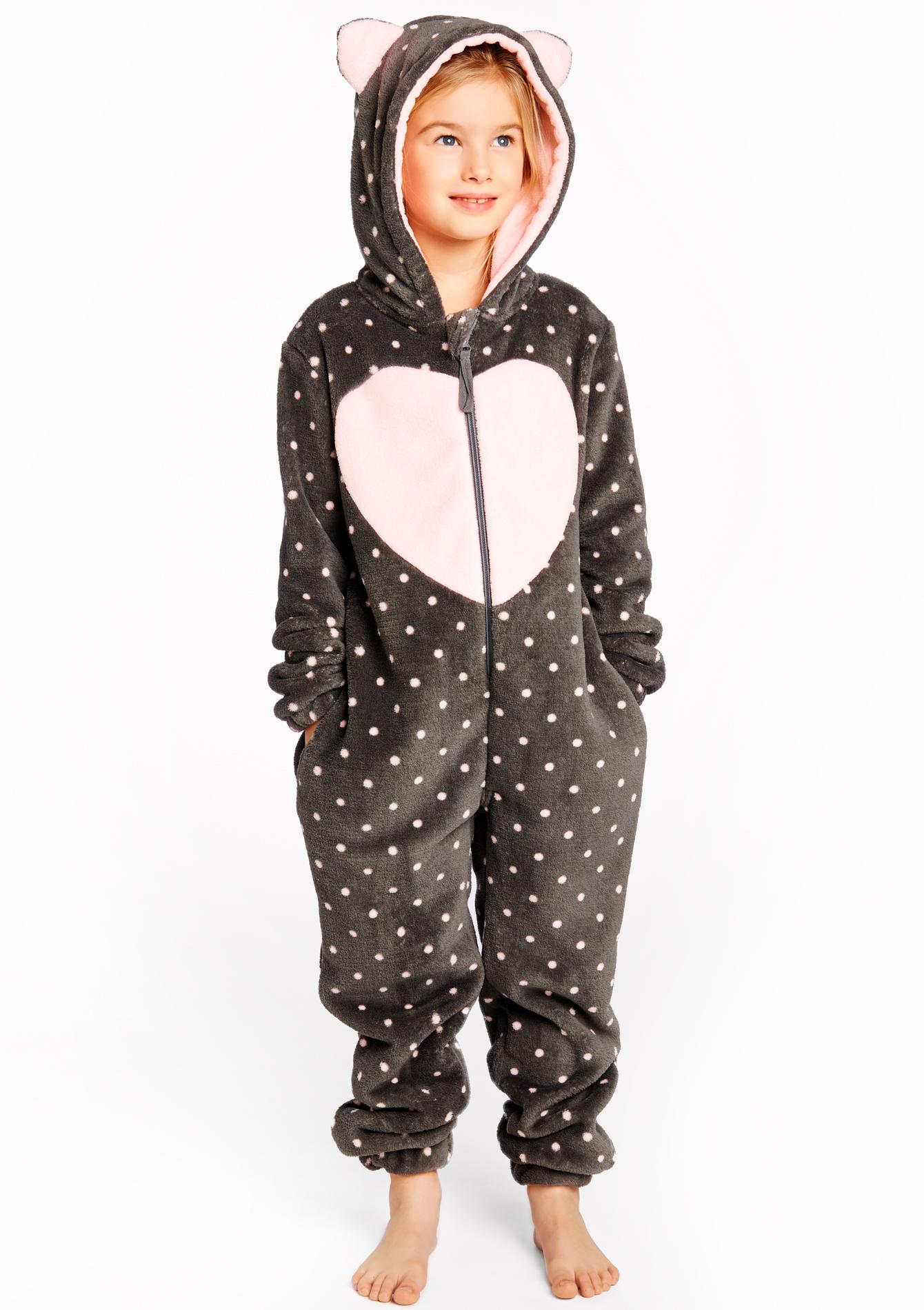 combinaison pyjama enfant pois lolaliza