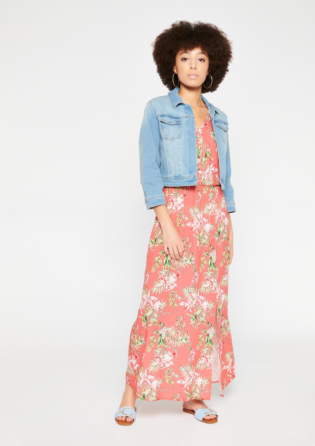 Veste en jean courte - LolaLiza - Modalova