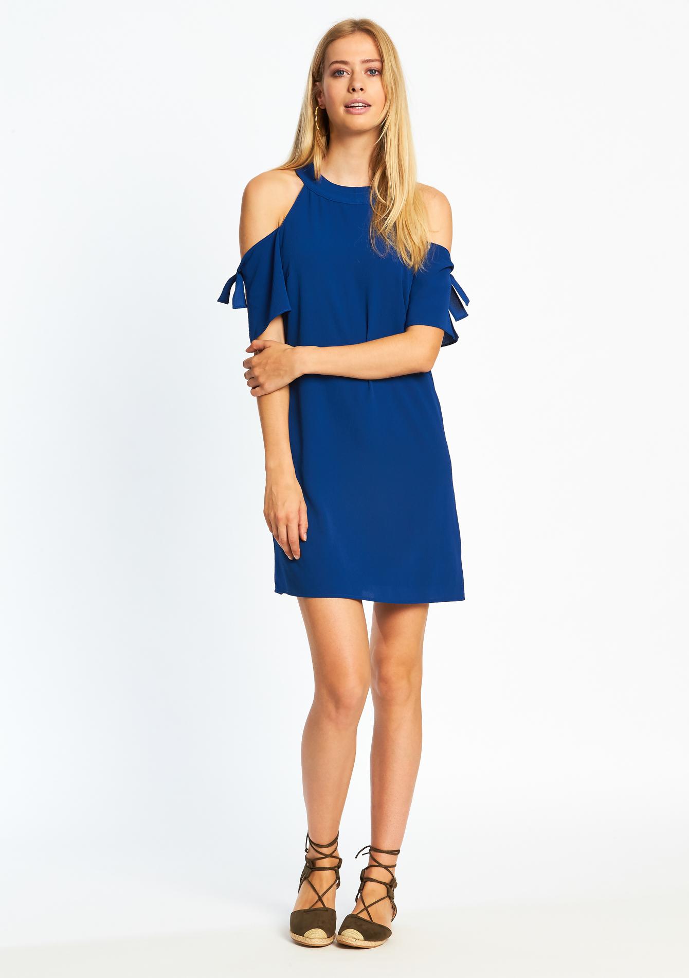 jurk met open schouders