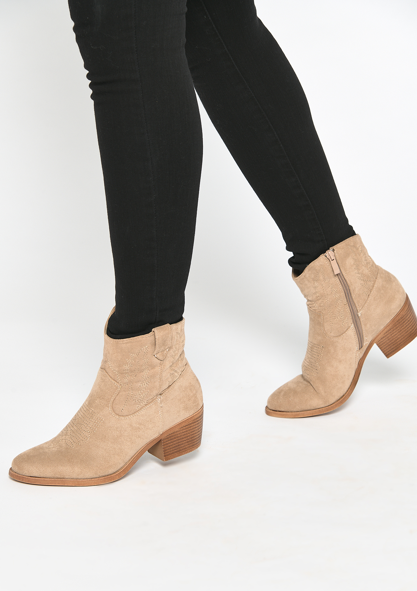 Shoes cowboy boots - BEIGE BISCUIT - 13100067_4018