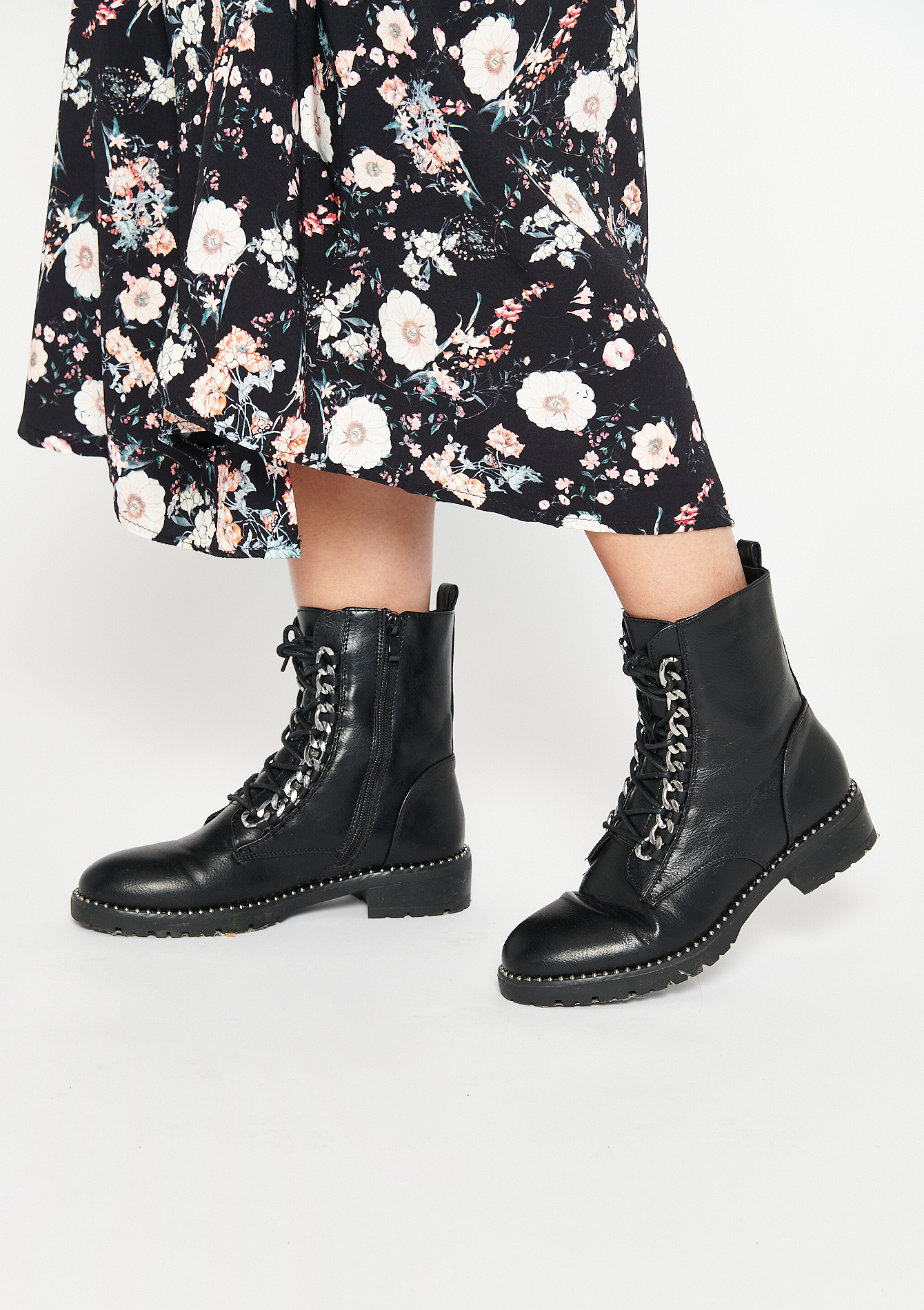 Bottines motardes - BLACK - 13100073_1119