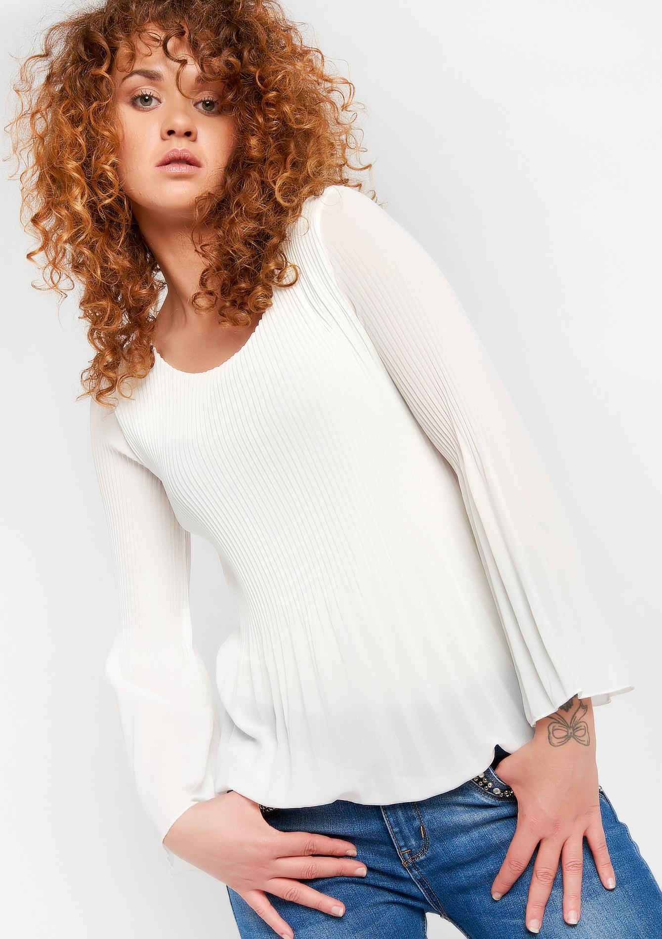 Plisse blouse