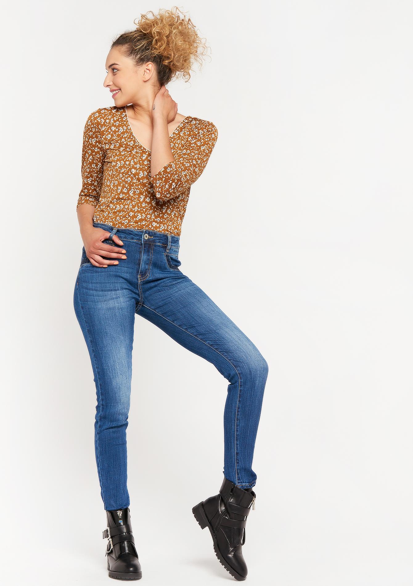 Jeans avec paillettes